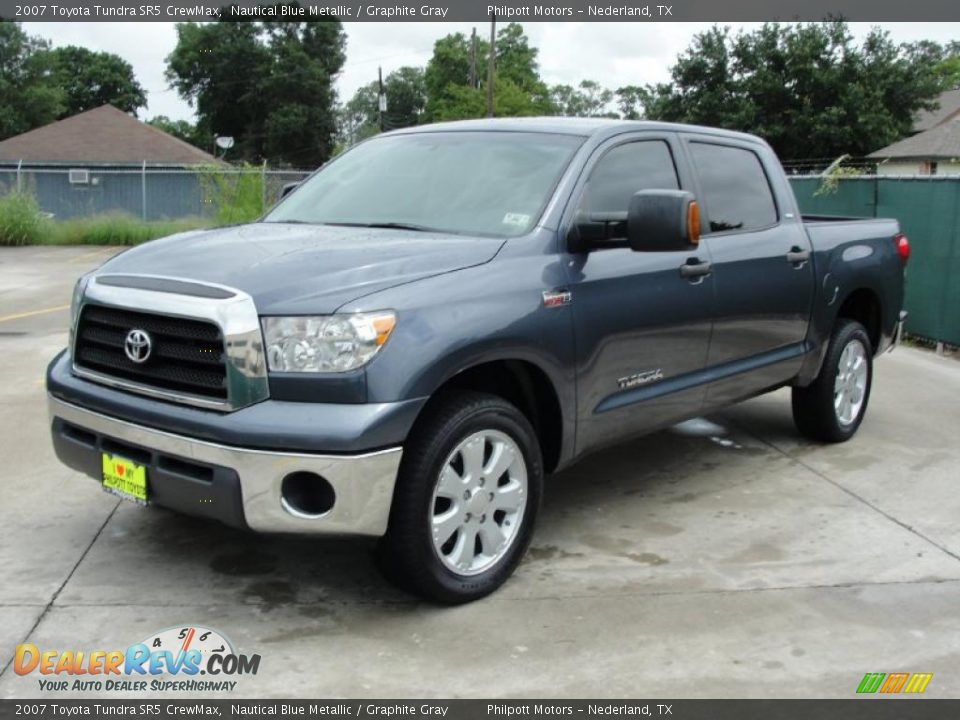 2007 toyota tundra sr5 crewmax nautical blue metallic graphite gray photo 7. Black Bedroom Furniture Sets. Home Design Ideas
