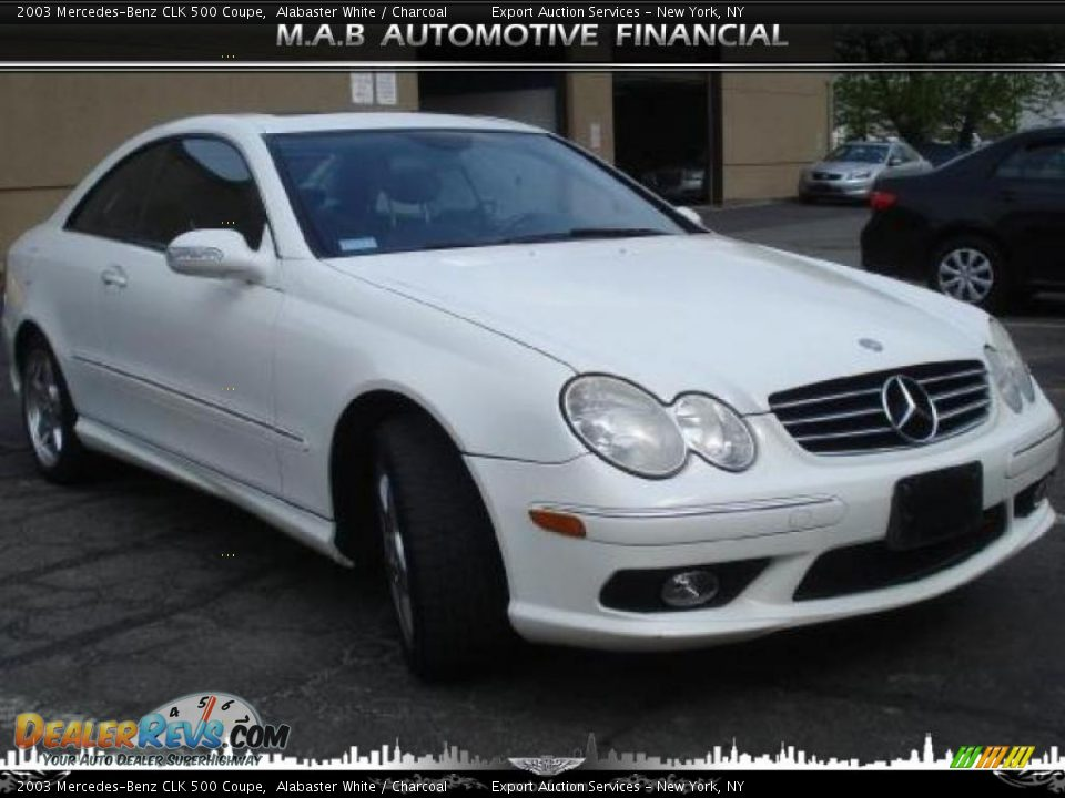 2003 mercedes benz clk 500 coupe alabaster white for 2003 mercedes benz clk