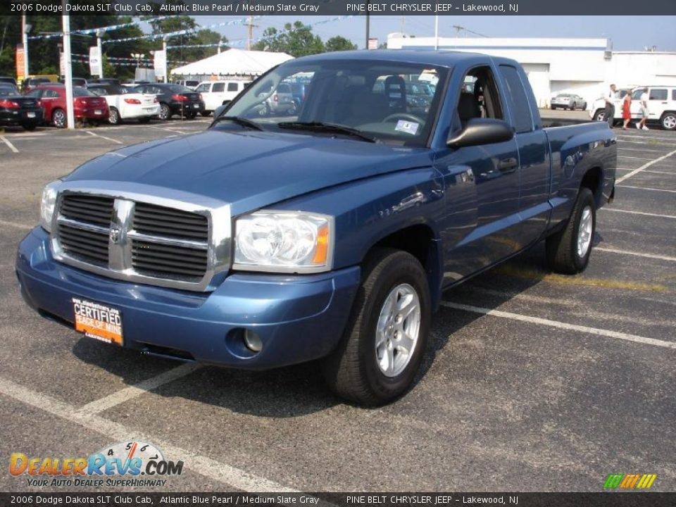 2006 dodge dakota slt club cab atlantic blue pearl medium slate gray photo 1. Black Bedroom Furniture Sets. Home Design Ideas