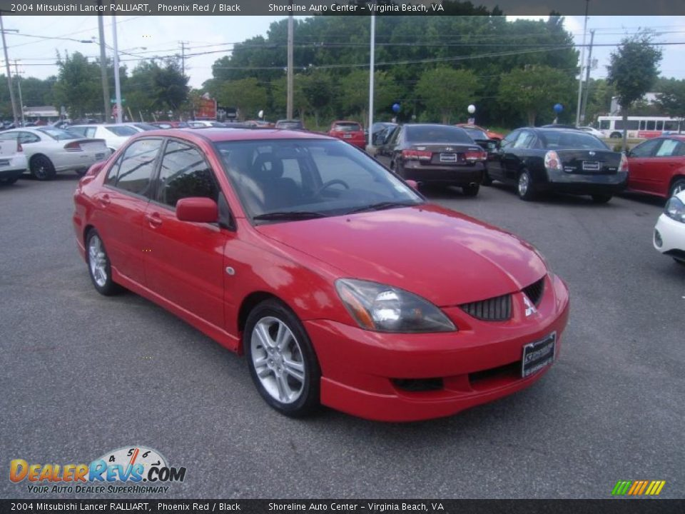 Used Cars Phoenix >> 2004 Mitsubishi Lancer RALLIART Phoenix Red / Black Photo ...