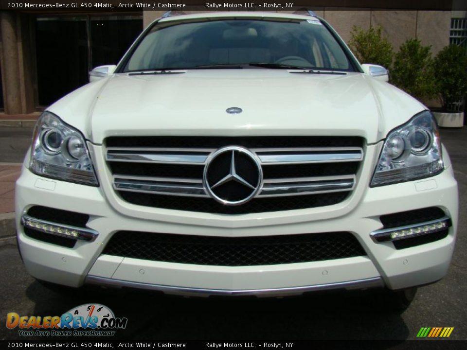 2010 mercedes benz gl 450 4matic arctic white cashmere. Black Bedroom Furniture Sets. Home Design Ideas