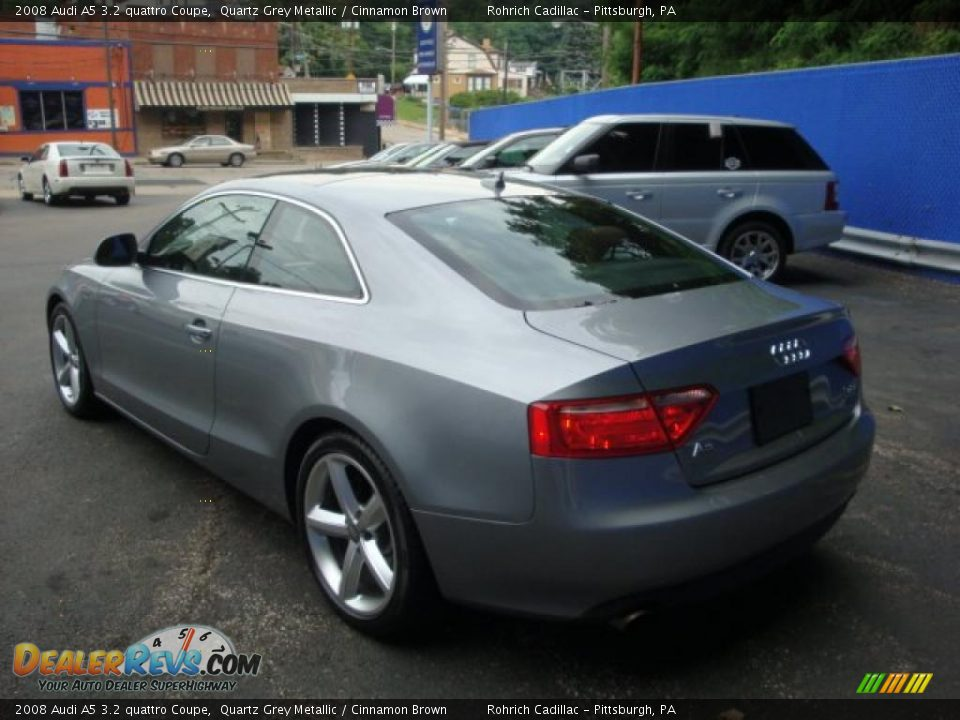 2008 audi a5 3 2 quattro coupe quartz grey metallic. Black Bedroom Furniture Sets. Home Design Ideas