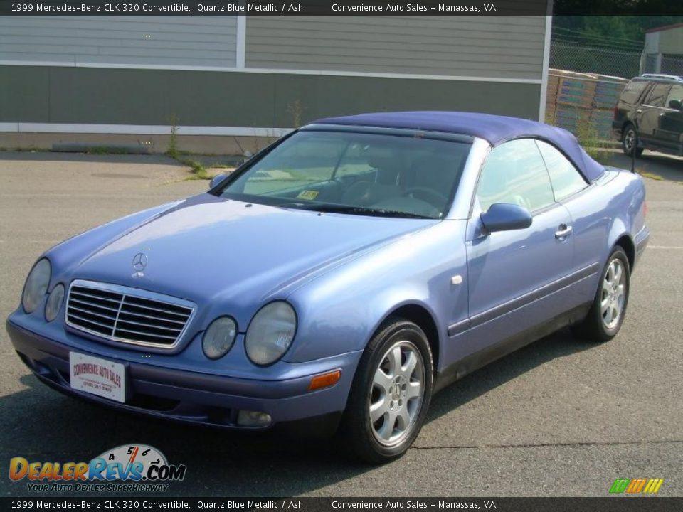 1999 mercedes benz clk 320 convertible quartz blue for Mercedes benz clk 1999