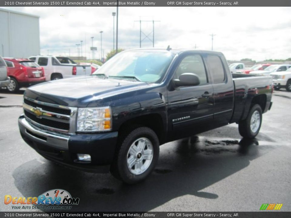 2010 chevrolet silverado 1500 lt extended cab 4x4 imperial blue metallic ebony photo 1. Black Bedroom Furniture Sets. Home Design Ideas