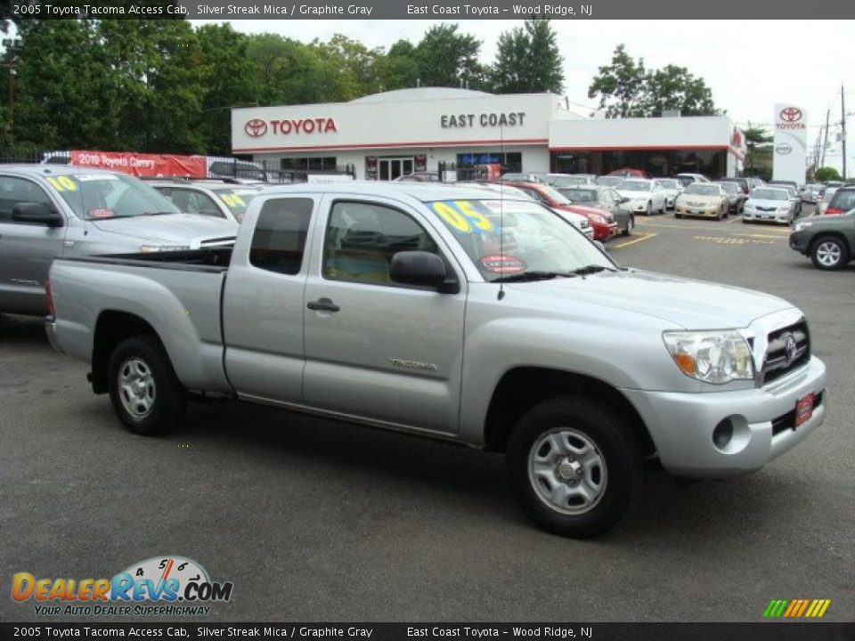 2005 toyota tacoma access cab silver streak mica. Black Bedroom Furniture Sets. Home Design Ideas