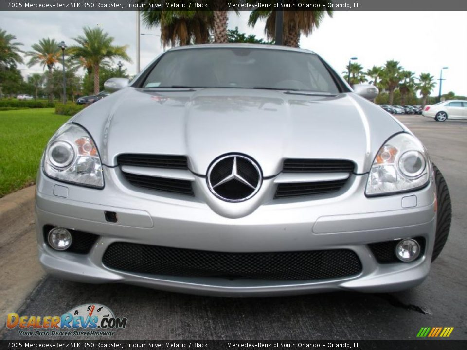2005 mercedes benz slk 350 roadster iridium silver. Black Bedroom Furniture Sets. Home Design Ideas
