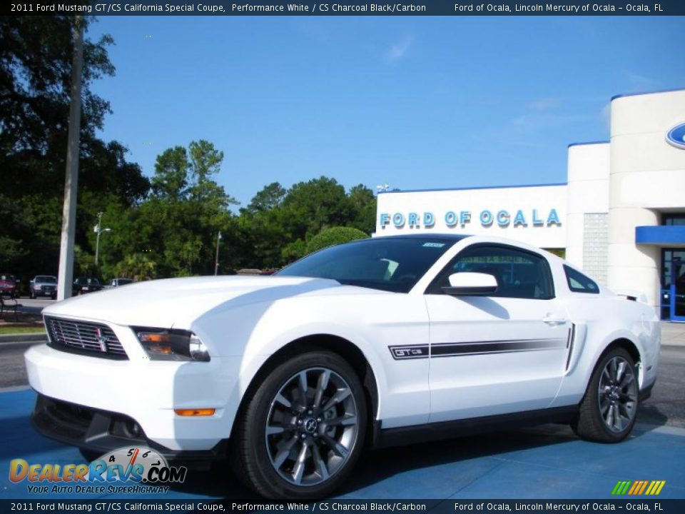 2011 ford mustang gt cs california special coupe performance white cs charcoal black carbon. Black Bedroom Furniture Sets. Home Design Ideas