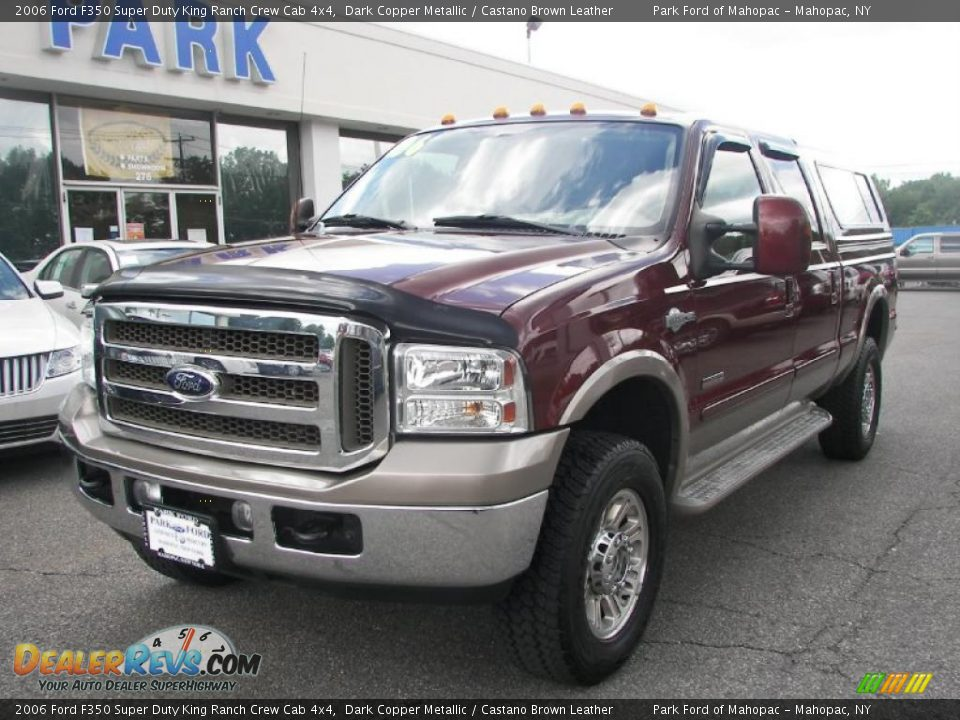 2006 ford f350 super duty king ranch crew cab 4x4 dark. Black Bedroom Furniture Sets. Home Design Ideas