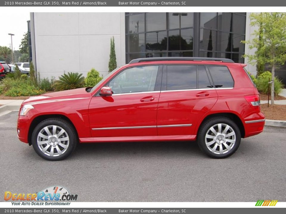 2010 mercedes benz glk 350 mars red almond black photo for 2010 mercedes benz glk
