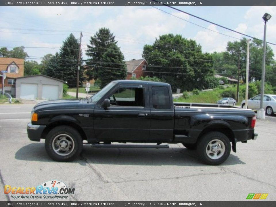 2004 ford ranger xlt supercab 4x4 black medium dark flint photo 5. Black Bedroom Furniture Sets. Home Design Ideas