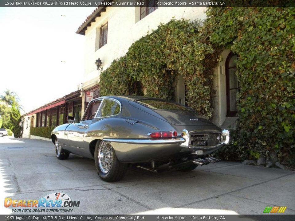 1963 jaguar e type xke 3 8 fixed head coupe opalescent gunmetal red photo 6 - Jaguar e type fixed head coupe ...