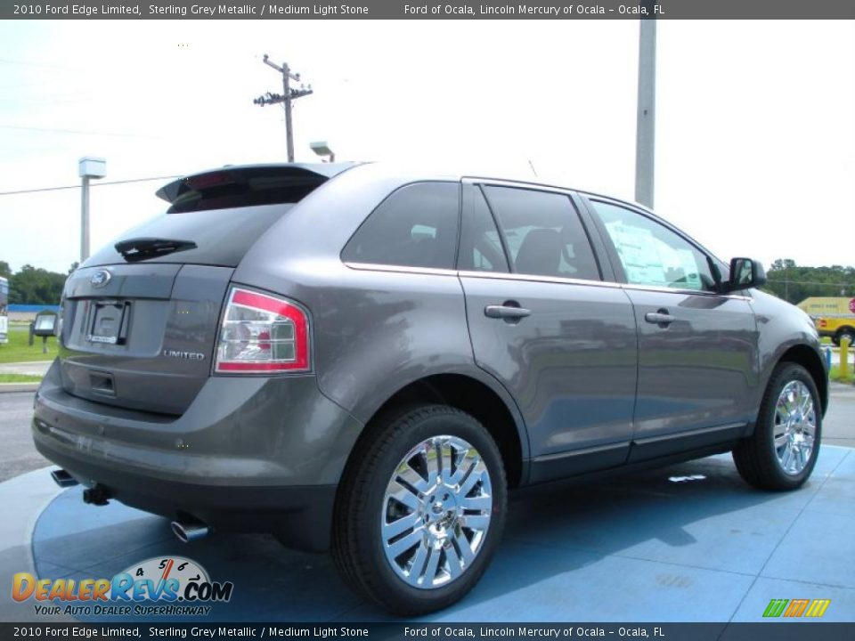 Ford Dealer Locator >> 2010 Ford Edge Limited Sterling Grey Metallic / Medium Light Stone Photo #3 | DealerRevs.com