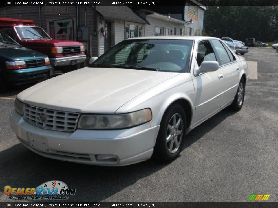 2003 Cadillac Seville Sls White Diamond Neutral Shale