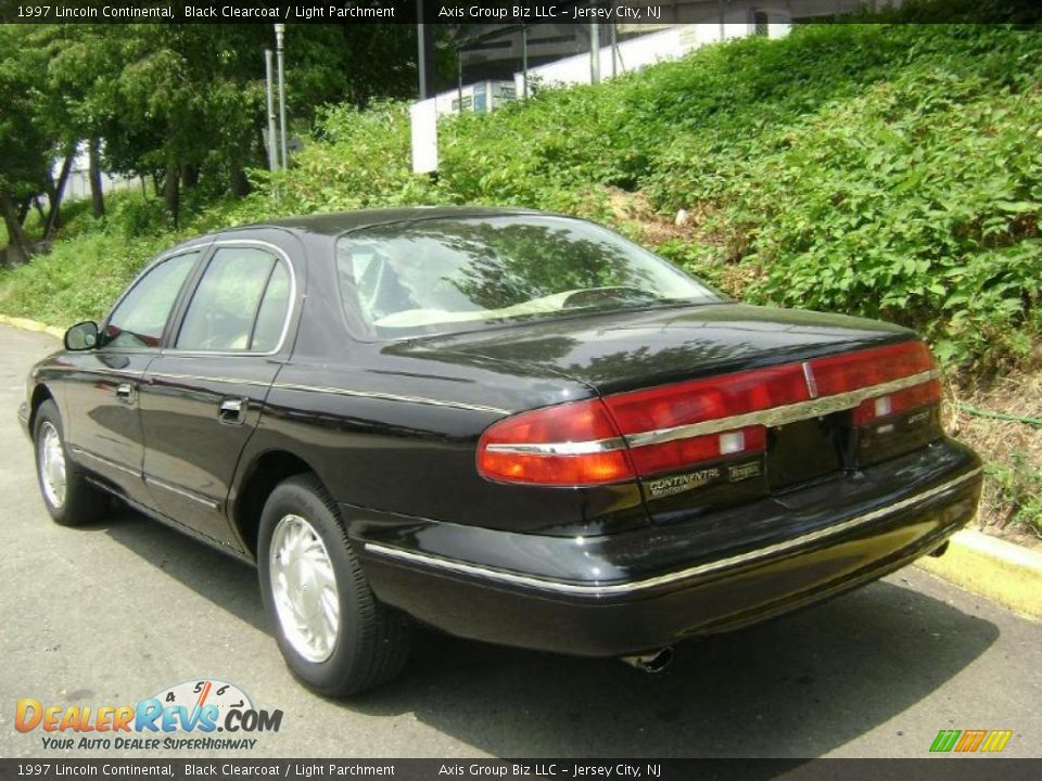 1997 lincoln continental black clearcoat light parchment for State motors lincoln dealer manchester nh