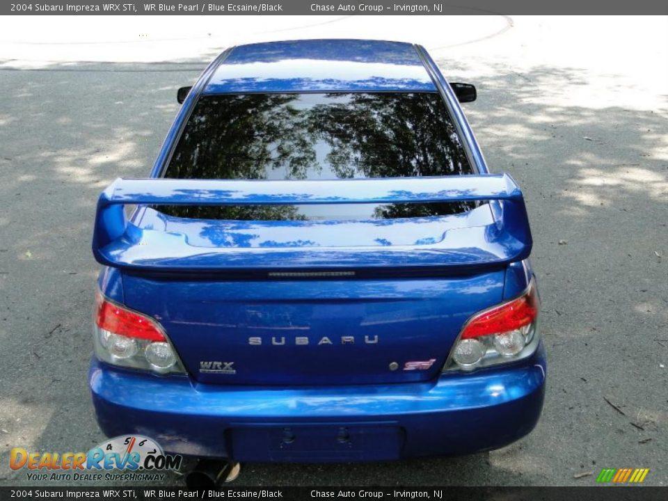 2004 Subaru Impreza Wrx Sti Wr Blue Pearl Blue Ecsaine