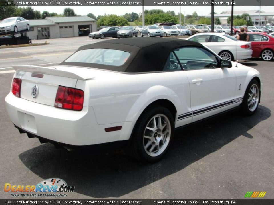ford mustang convertible white. 2007 ford mustang shelby gt500 convertible performance white