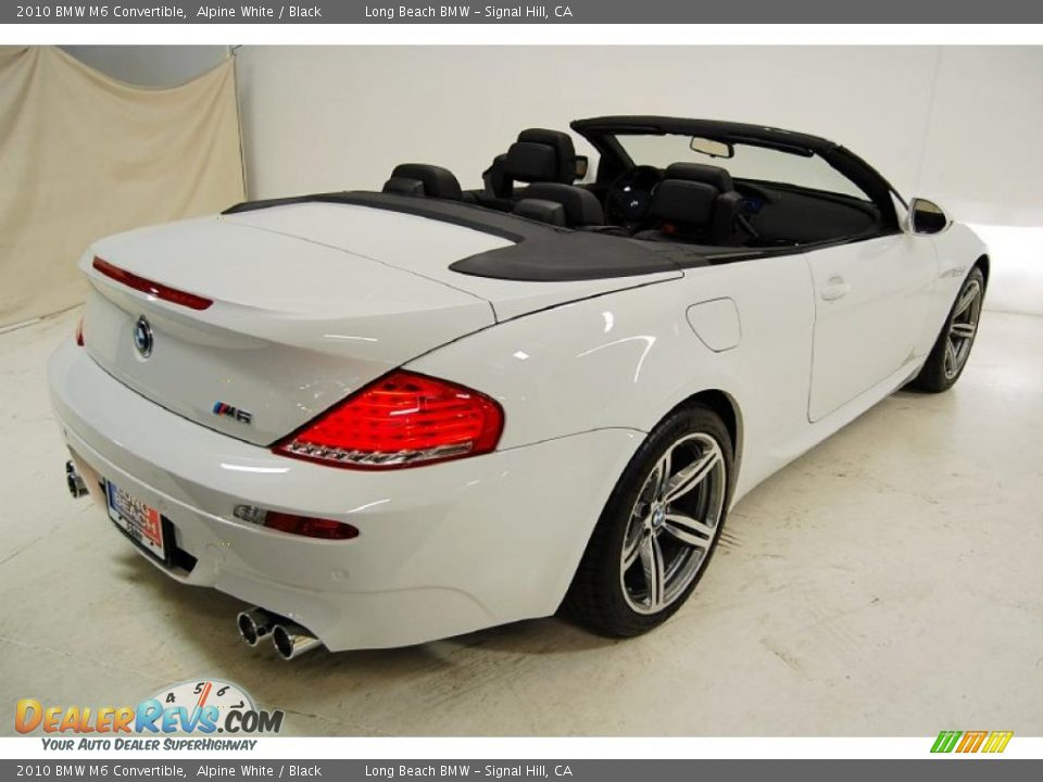 2018 Bmw M6 Convertible >> 2010 BMW M6 Convertible Alpine White / Black Photo #6 | DealerRevs.com