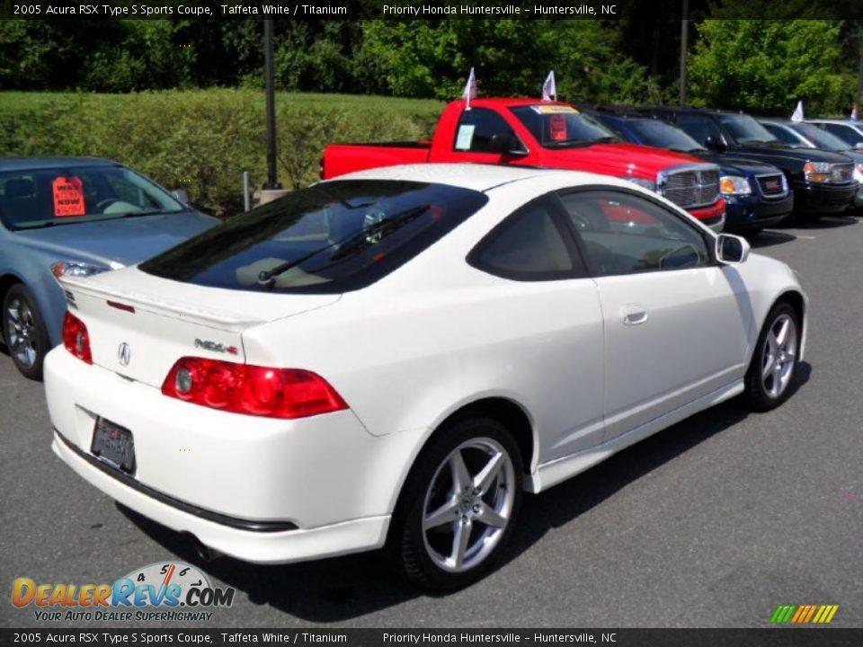 2005 acura rsx type s sports coupe taffeta white