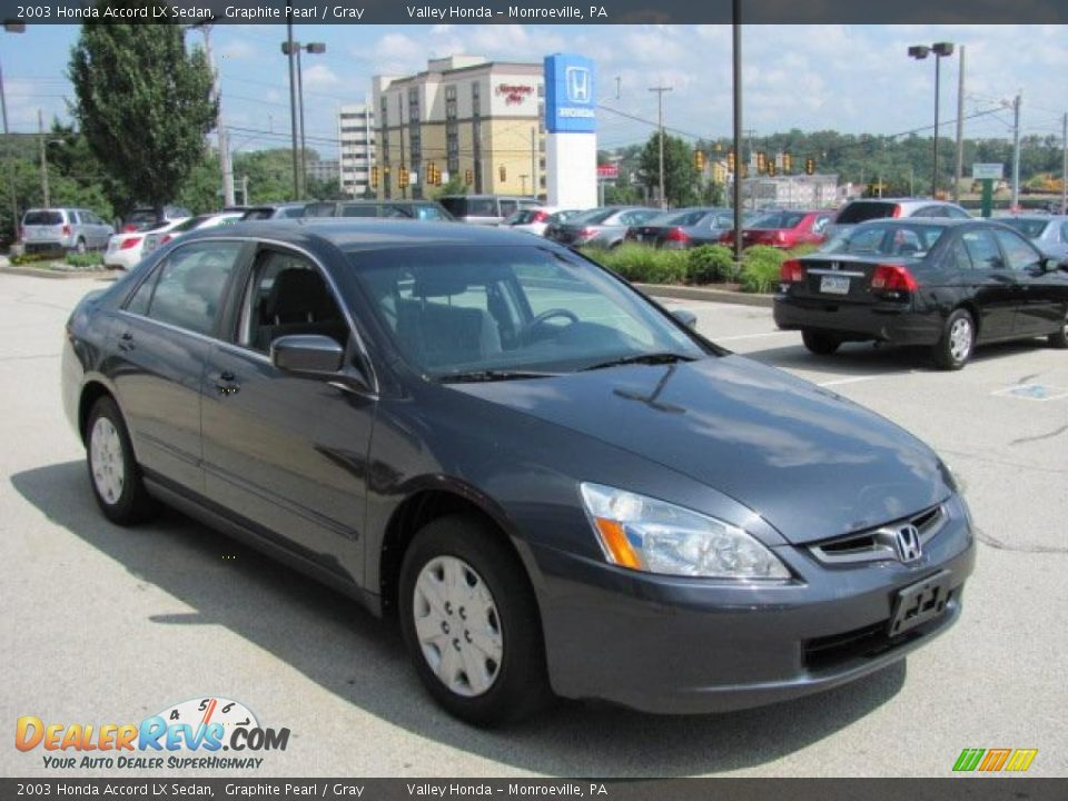 2003 honda accord lx sedan graphite pearl gray photo 7. Black Bedroom Furniture Sets. Home Design Ideas