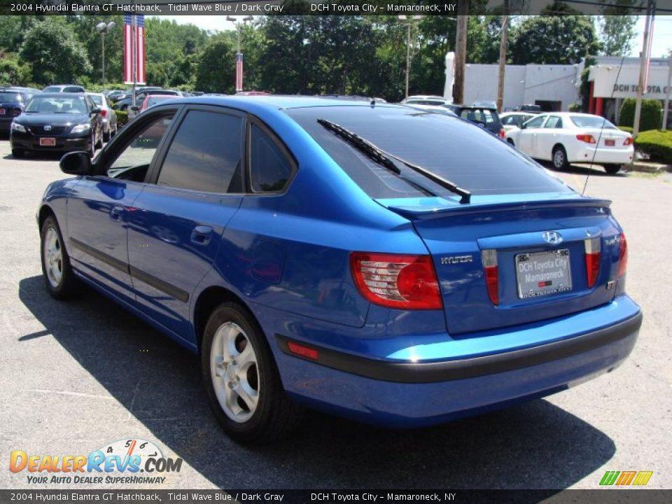 2004 Hyundai Elantra Gt Hatchback Tidal Wave Blue Dark