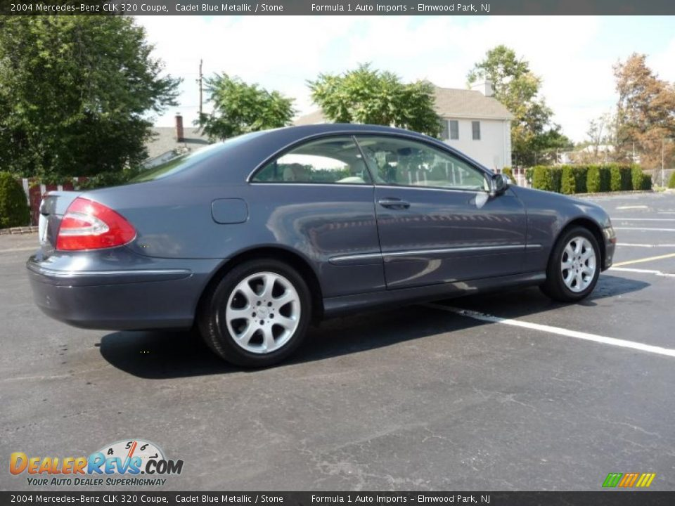 2004 mercedes benz clk 320 coupe cadet blue metallic. Black Bedroom Furniture Sets. Home Design Ideas