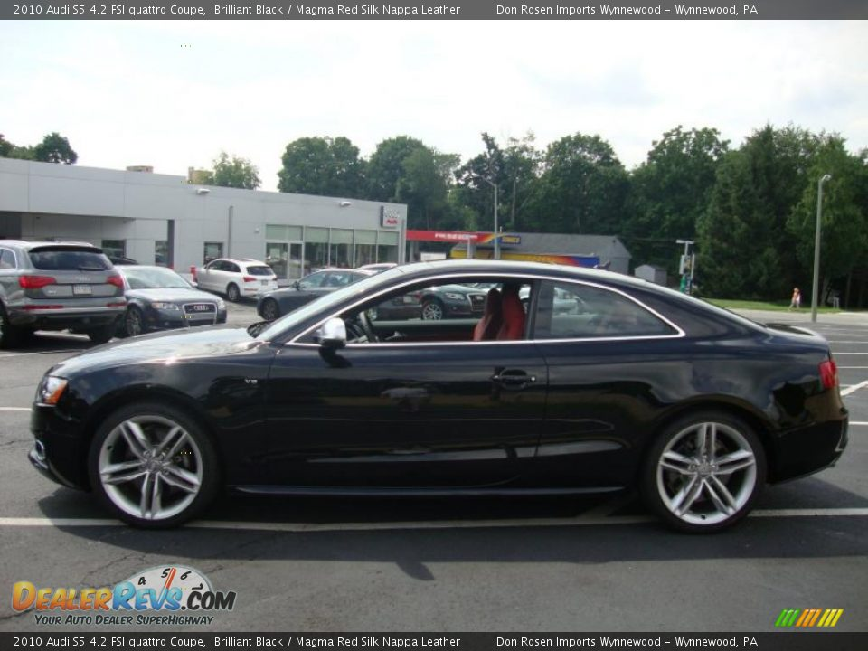 2010 Audi S5 4 2 Fsi Quattro Coupe Brilliant Black Magma