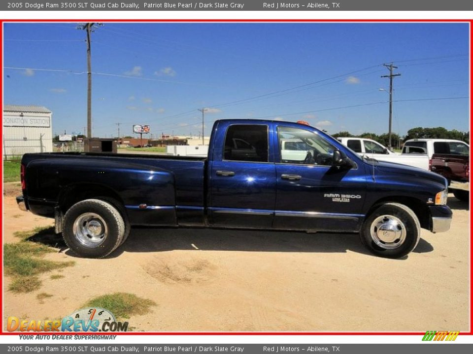 2005 Dodge Ram 3500 Slt Quad Cab Dually Patriot Blue Pearl