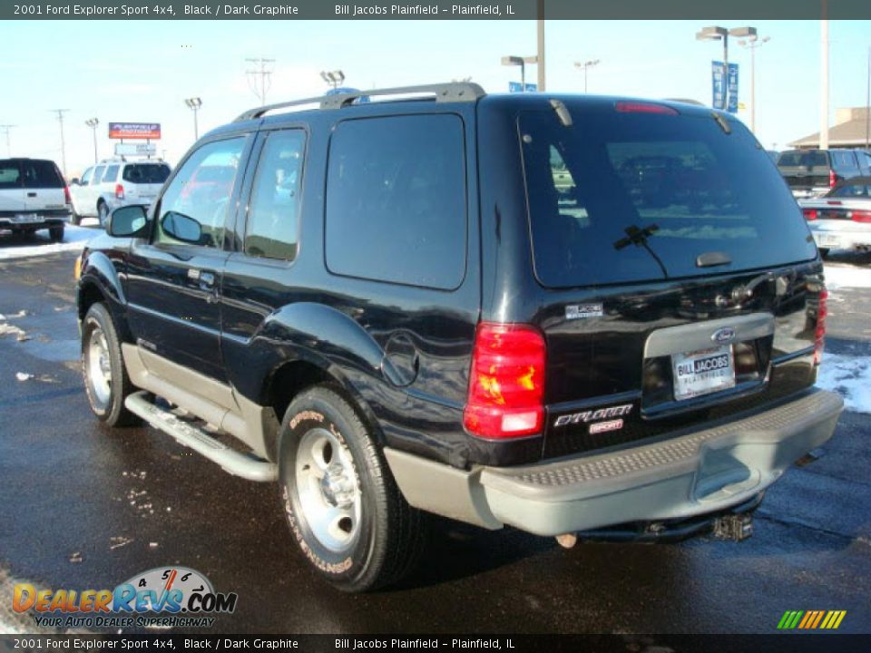 Ford Dealer Locator >> 2001 Ford Explorer Sport 4x4 Black / Dark Graphite Photo ...