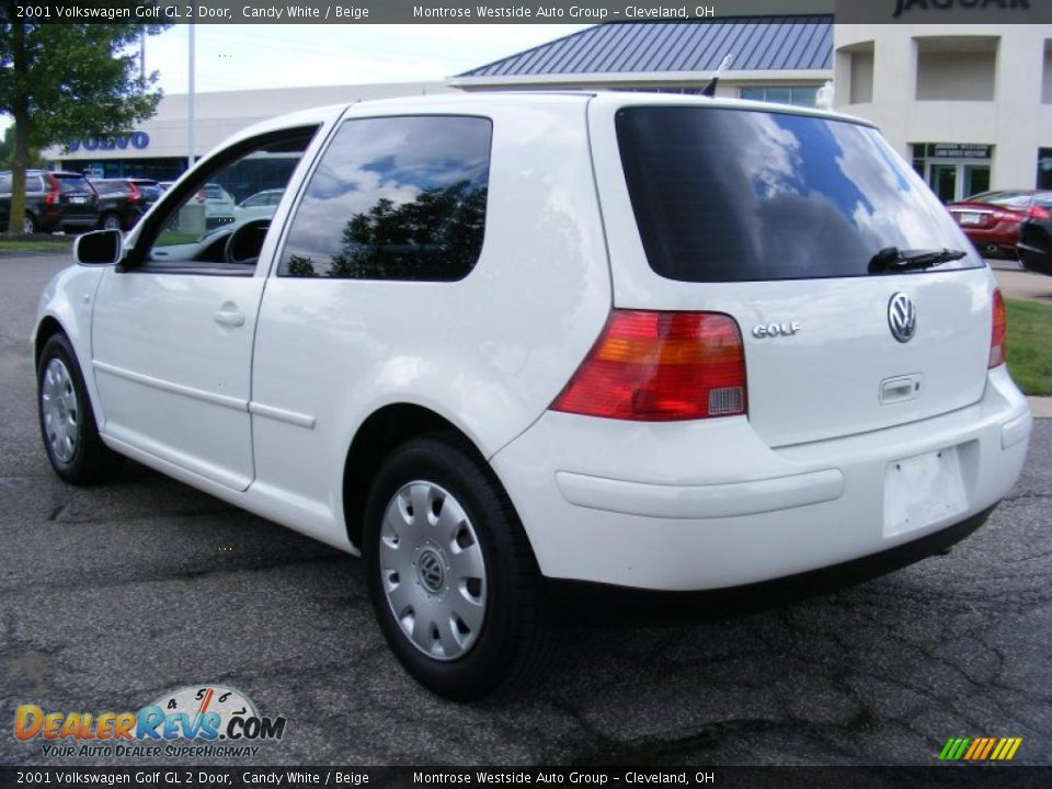 2001 volkswagen golf gl 2 door candy white beige photo. Black Bedroom Furniture Sets. Home Design Ideas