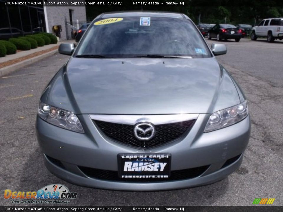 2004 mazda mazda6 s sport wagon sepang green metallic gray photo 2. Black Bedroom Furniture Sets. Home Design Ideas