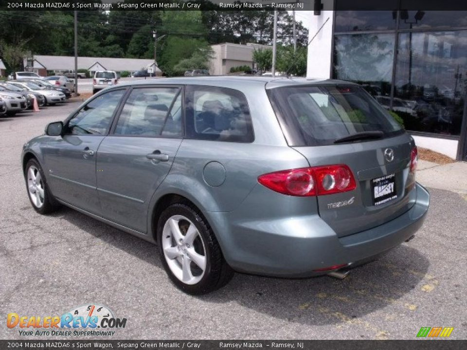 2004 mazda mazda6 s sport wagon sepang green metallic gray photo 7. Black Bedroom Furniture Sets. Home Design Ideas