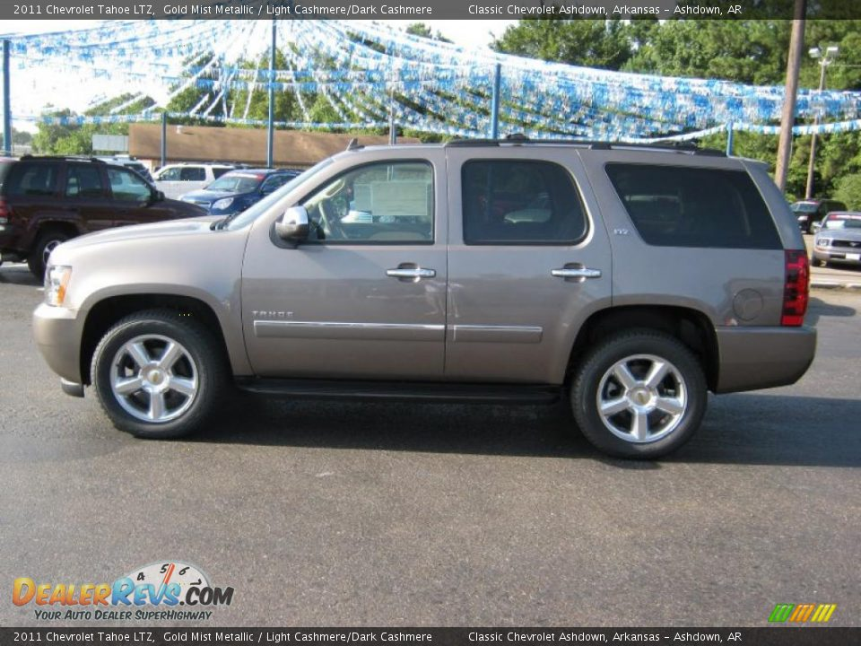 Honda Dealership Conroe Tx 2011 Chevrolet Tahoe LTZ Gold Mist Metallic / Light Cashmere/Dark ...