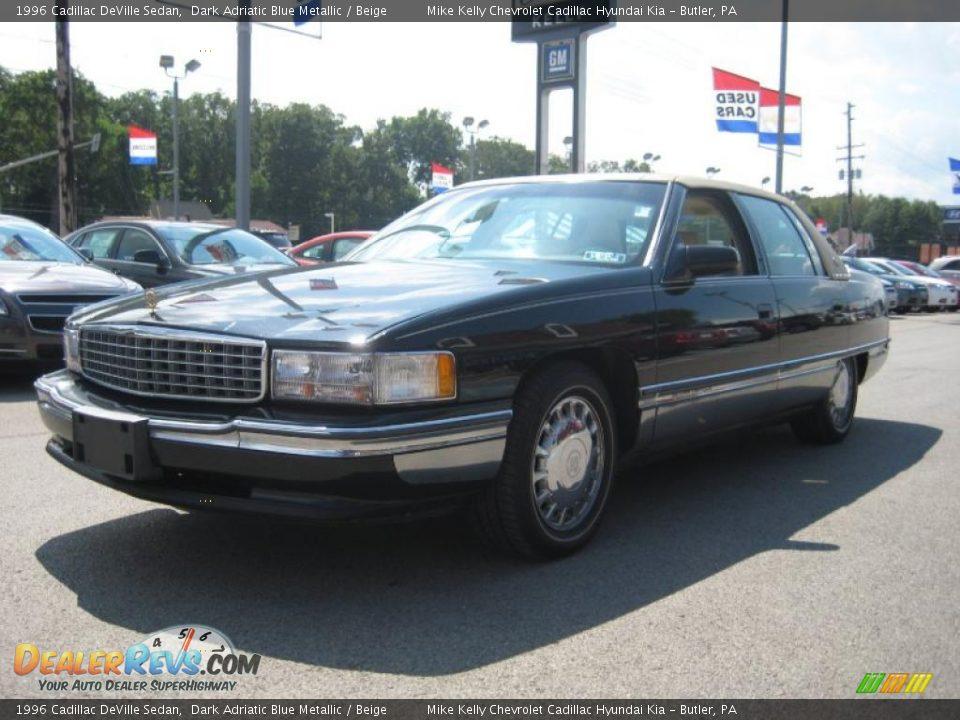 1996 cadillac deville sedan dark adriatic blue metallic. Cars Review. Best American Auto & Cars Review