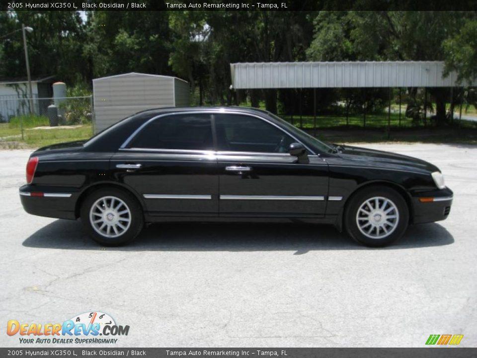 Used Car Dealer >> 2005 Hyundai XG350 L Black Obsidian / Black Photo #8 | DealerRevs.com