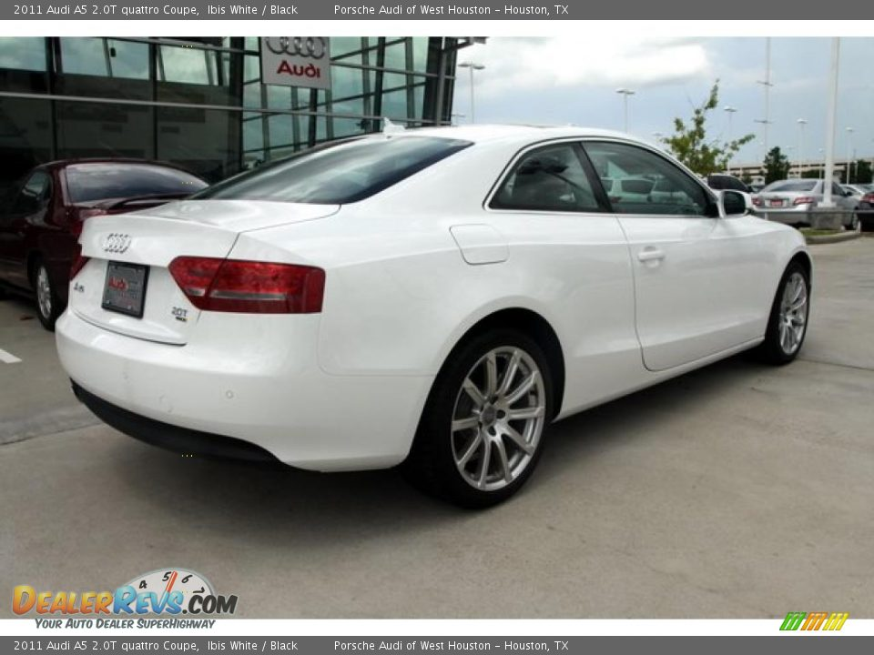 2011 Audi A5 2 0T quattro Coupe Ibis White Black