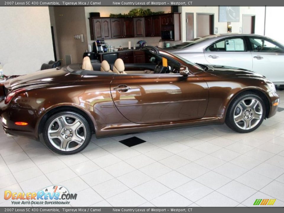 2007 lexus sc 430 convertible tigereye mica camel photo 3. Black Bedroom Furniture Sets. Home Design Ideas