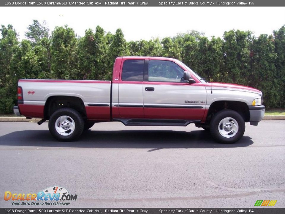 1998 dodge ram 1500 laramie slt extended cab 4x4 radiant fire pearl gray photo 15. Black Bedroom Furniture Sets. Home Design Ideas