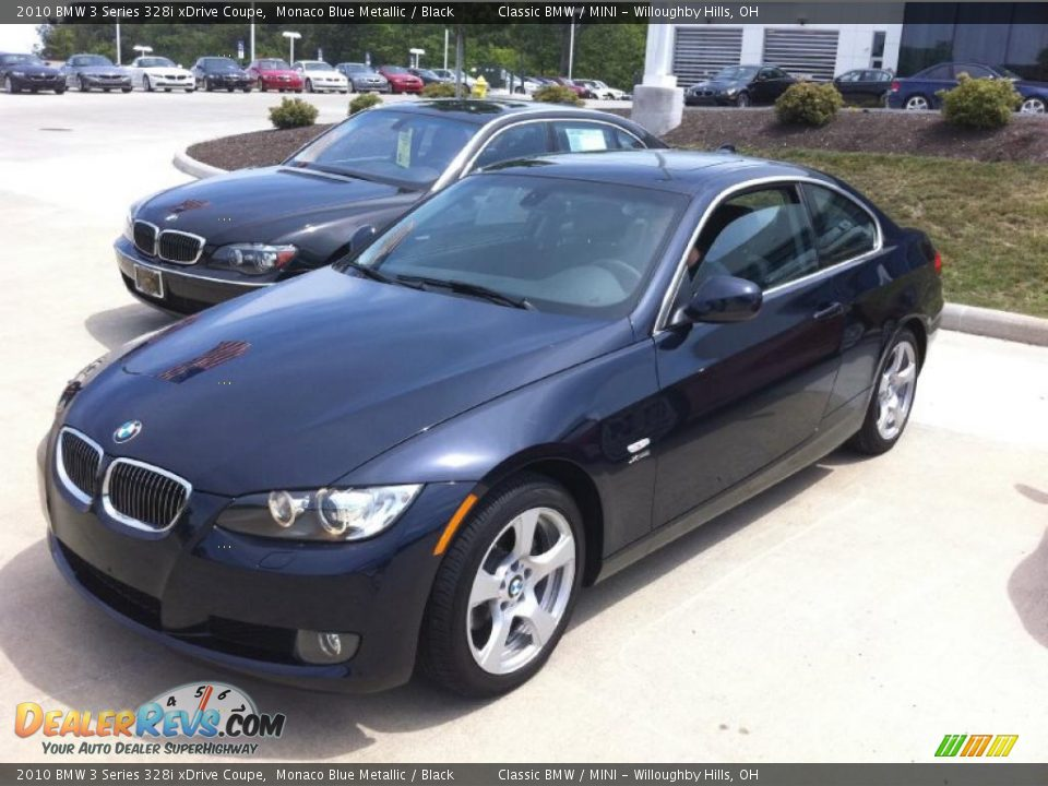 2010 bmw 3 series 328i xdrive coupe monaco blue metallic. Black Bedroom Furniture Sets. Home Design Ideas