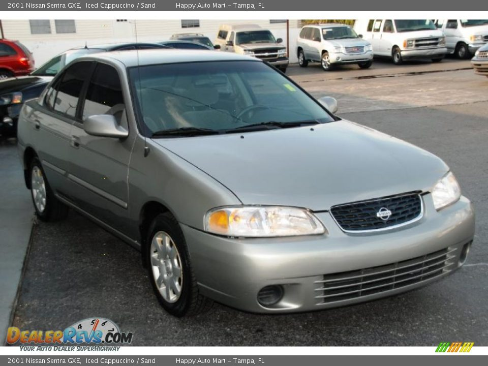 2001 Nissan Sentra Gxe Iced Cappuccino Sand Photo 4