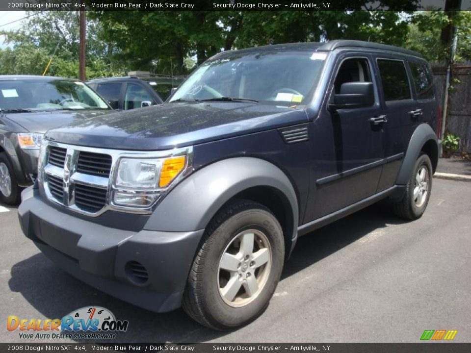 2008 dodge nitro sxt 4x4 modern blue pearl dark slate gray photo 1. Black Bedroom Furniture Sets. Home Design Ideas