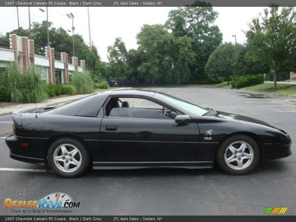 1997 Chevrolet Camaro Rs Coupe Black Dark Grey Photo 7