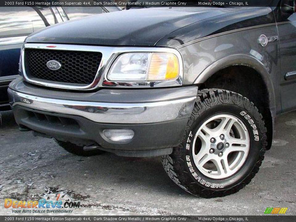 2003 Ford F150 Heritage Edition Supercab 4x4 Dark Shadow Grey