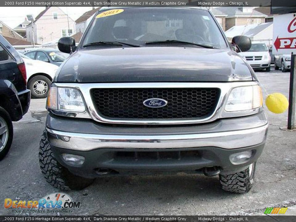 2003 Ford F150 Heritage Edition Supercab 4x4 Dark Shadow Grey