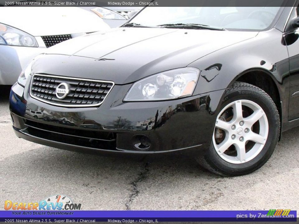 2005 Nissan Altima 2.5S >> 2005 Nissan Altima 2.5 S Super Black / Charcoal Photo #7 | DealerRevs.com