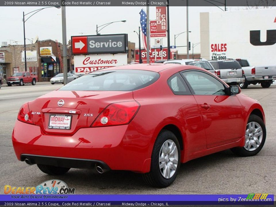 2009 Nissan Altima 2 5 S Coupe Code Red Metallic