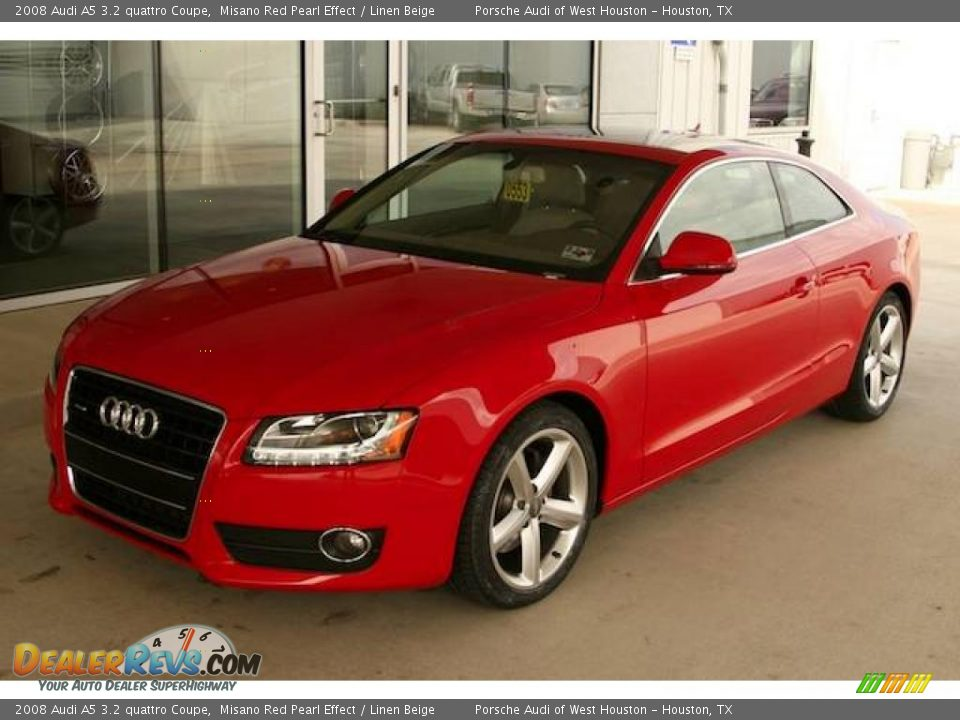 2008 audi a5 3 2 quattro coupe misano red pearl effect. Black Bedroom Furniture Sets. Home Design Ideas