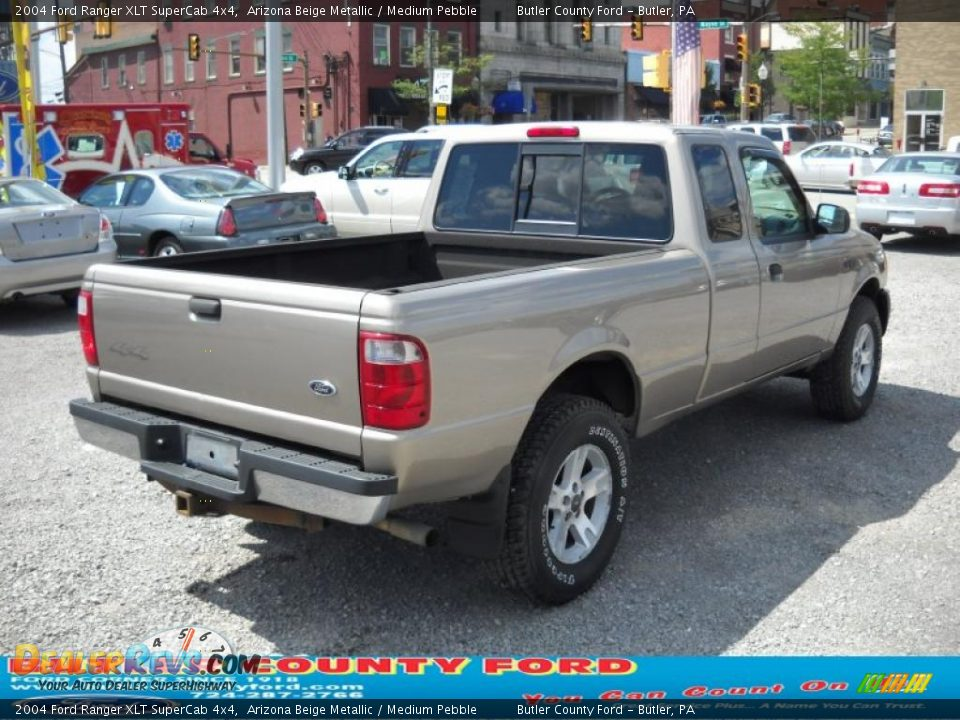 2004 ford ranger xlt supercab 4x4 arizona beige metallic medium pebble photo 2. Black Bedroom Furniture Sets. Home Design Ideas