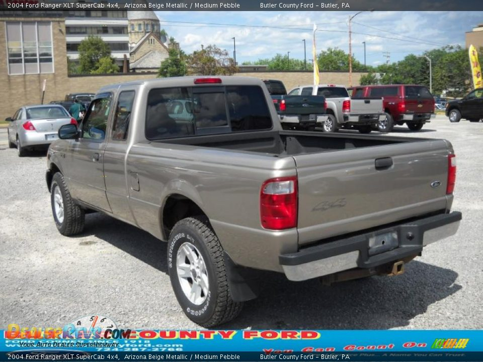 2004 ford ranger xlt supercab 4x4 arizona beige metallic medium pebble photo 4. Black Bedroom Furniture Sets. Home Design Ideas