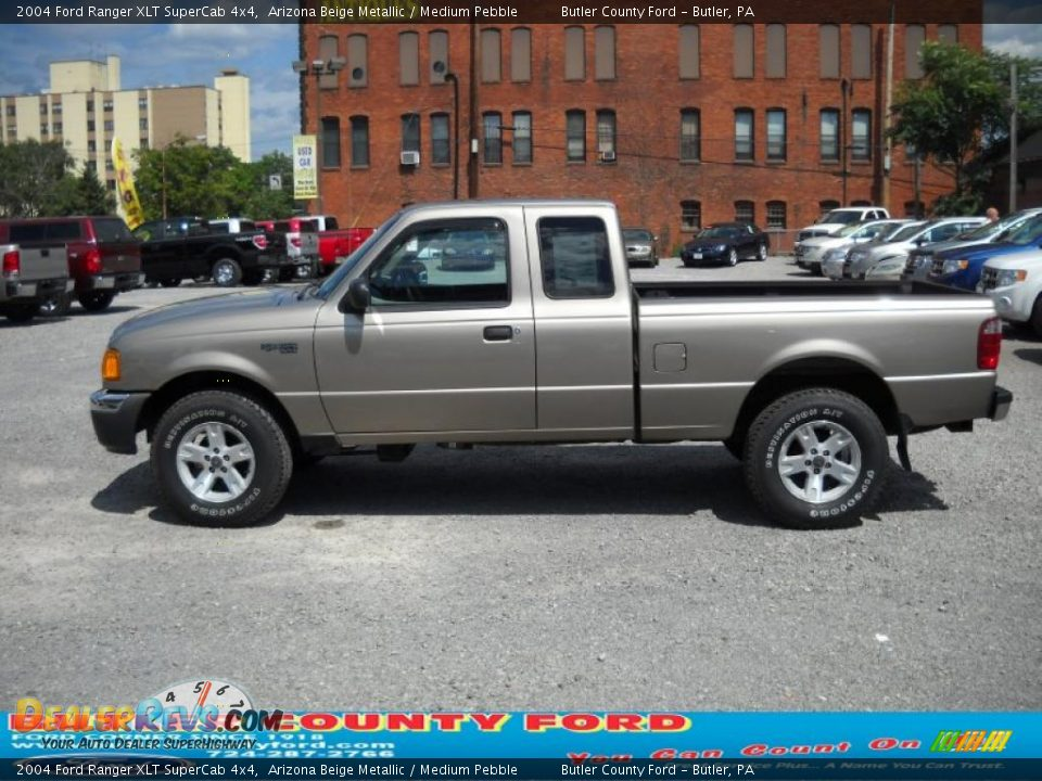 2004 ford ranger xlt supercab 4x4 arizona beige metallic medium pebble photo 5. Black Bedroom Furniture Sets. Home Design Ideas