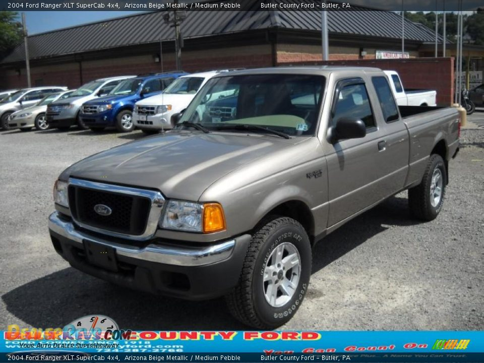 2004 ford ranger xlt supercab 4x4 arizona beige metallic medium pebble photo 16. Black Bedroom Furniture Sets. Home Design Ideas